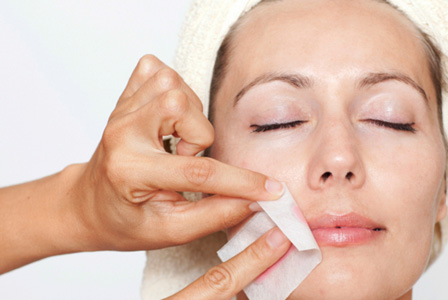 Upper Lip Hair Removal Waxing