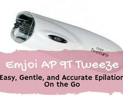Emjoi AP 9T Tweeze_ Easy, Gentle, and Accurate Epilation On the Go