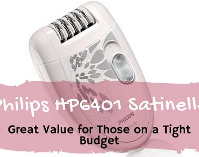 Philips HP6401 Satinelle: Great Value for Those on a Tight Budget