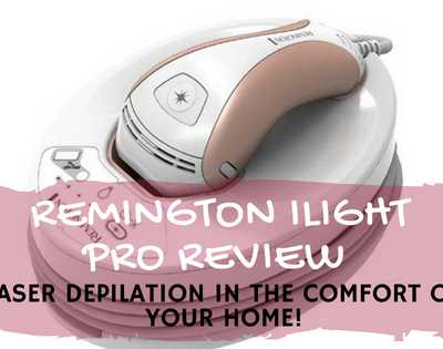 Remington iLight Pro: Laser Depilation in the Comfort of Your Home!